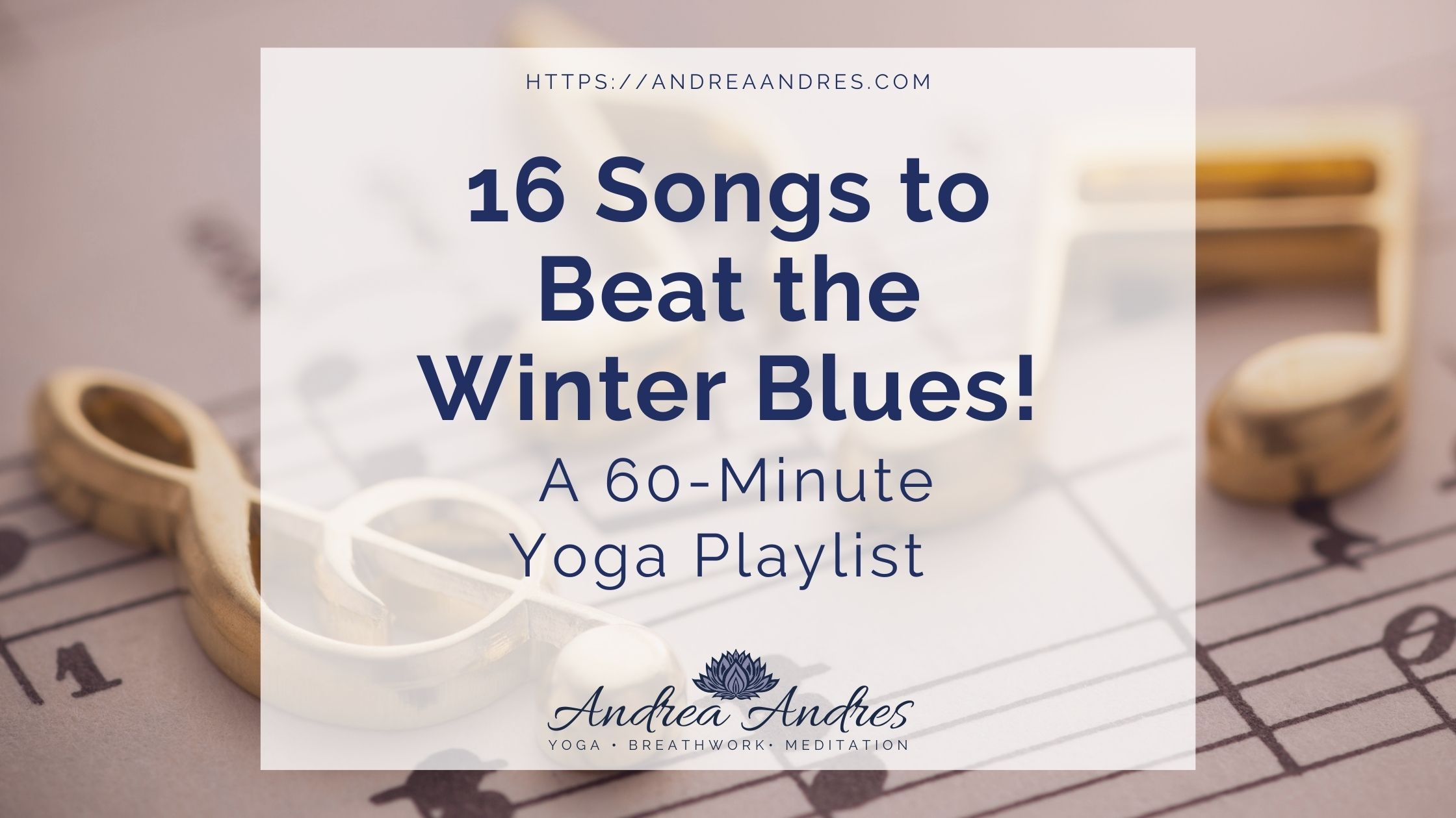 Winter Yoga Playlist